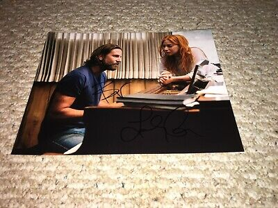 A Star is Born Movie signed 8x10 Photo by Bradley Cooper and Lady Gaga 2