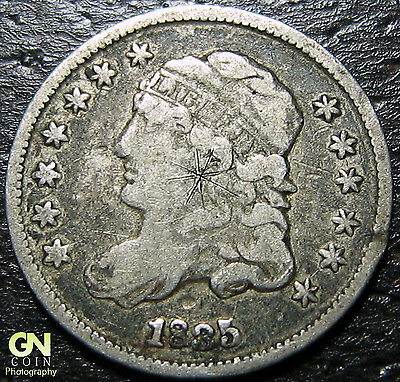 1835 P Capped Bust Half Dime  --  MAKE US AN OFFER!  #W2749  ZXCV