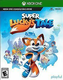 BRAND NEW Super Lucky's Tale (Microsoft Xbox One, 2017) + Free Fast Shipping