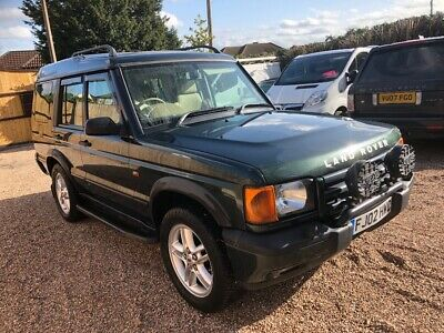02 LAND ROVER DISCOVERY 2 TD5 ES AUTO 4x4 12 MOT SATNAV LEATHER SOLID AS A ROCK