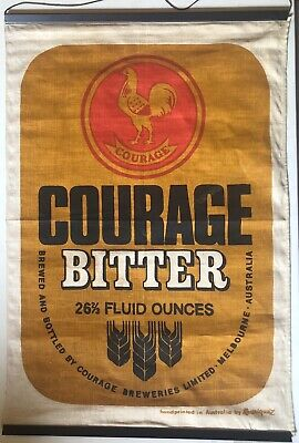 Collectable COURAGE BITTER WALL HANGING