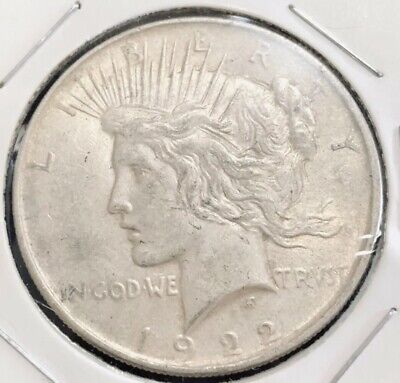 USA 1922 Liberty Peace Dollar 1 dollar Silver Coin