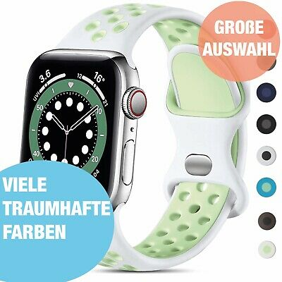 Apple Watch Silikon Armband Sport aus Silikon Band Watch Series 1 / 2 / 3 / 4