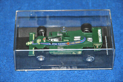 Martini Lotus 79 Car Model 1:43 - F1 1979 - Like New (Offical Product)