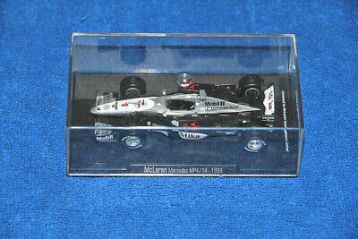 Mclaren Mercedes Mp4/14 Car Model 1:43 - F1 1999 - Like New (Offical Product)