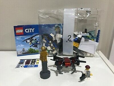 Lego 60207 Sky Police Drone Chase City From Tates Toyworld 3300