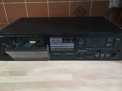 Yamaha Natural Sound Stereo Cassette Deck, Stereo Separates