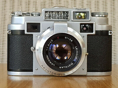 Lordomat 35mm German rangefinder camera with Lordon F1.9  50mm lens. Excellent