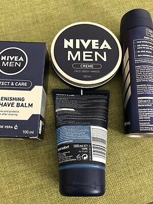 Brand New Mens Nivea Products