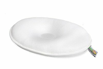 Mimos S-SIZE Baby Pillow Flat Head Air Flow Nursery Cot 36 and 46cm Before XL