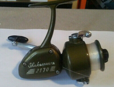 VINTAGE SHAKESPEARE Cast reel No  2170 Model fishing reel Parts Tackle