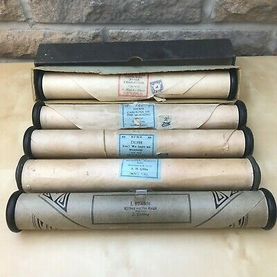 Vintage Pianola Player Piano Music Rolls Blues Foxtrot Joblot Bundle