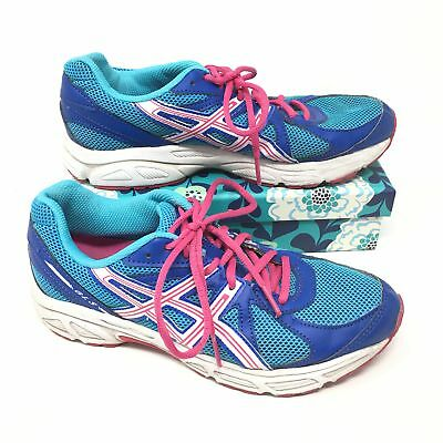 e1b88011a21f Women s Asics GLS Size 7 Sneakers Shoes Running Fitness Blue Pink White  Teal H6