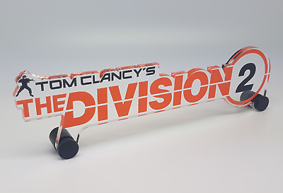 Tom Clancy's The Division 2 Acrylic Display Trophy Collectable Merchandise
