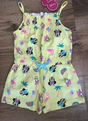 Primark Disney Summer Playsuit Bnwt All Ages Minnie Mouse All In One