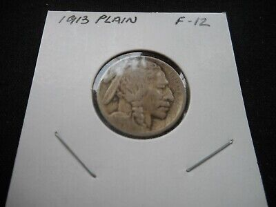 1913 Buffalo Nickel (Five Cents under mound) -- Circulated