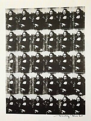 """Andy Warhol, """"Thirty Are Better Than One"""" Hand signed Print, 1986 with COA"""