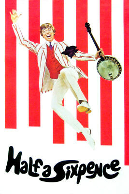 Half A Sixpence 1967 Dvd Tommy Steele Public Domain Films Classic Movie