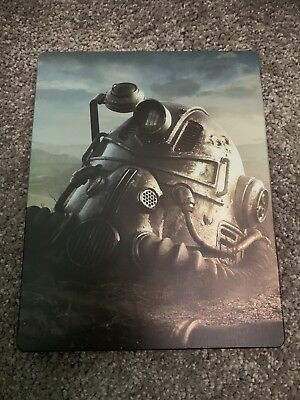 Fallout 76 Steelbook Case For Xbox or PS4 or PC -  Steelbook Only - NEW