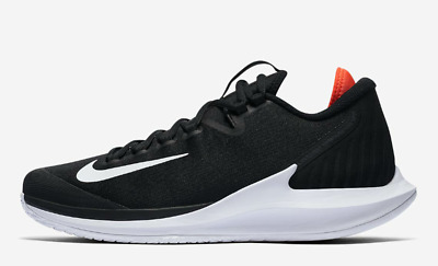 Nikecourt Air Zoom Zero Hc Uk 7 Eu 41 Mens Tennis Black Hard Court Aa8018-006