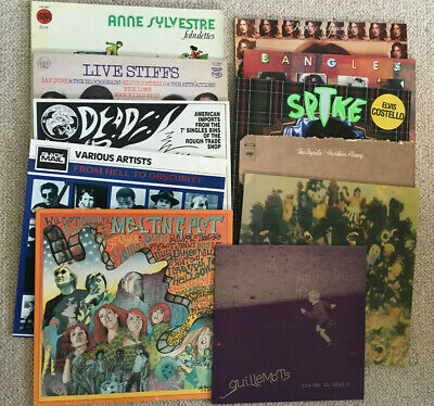 VINYL RECORDS ALBUMS LP's COLLECTION JOB LOT Byrds Punk SST Rock Costello Pop