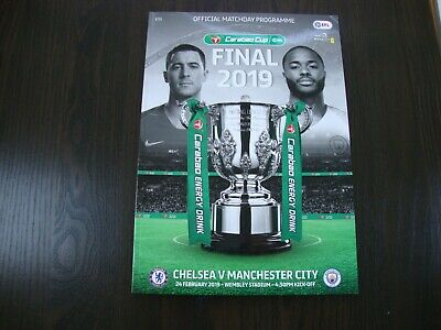2019 CARABAO CUP FINAL MAN CITY v CHELSEA