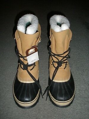 7c4ae79c039 MEN'S SOREL CARIBOU™ Buff Cold Weather Winter Boots SIZE 10 MENS USA New w/  Tag