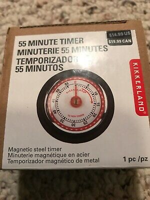 55 MINUTE TIMER Yellow Magnetic Back NEW - $29 97 | PicClick