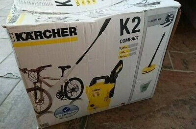 Brand New Boxed Karcher K2 Compact Car and Home Pressure Washer Plus Home Kit.
