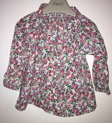 Girls Age 4-6 Months H&M Floral Top