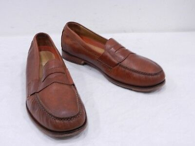 3761e3b7b47 Cole Haan Pinch Grand OS Mens 11.5 Brown Leather Penny Loafers Casual Dress  Shoe