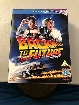 Back to the Future Trilogy (Blu-ray Disc,3-Disc Set, W/ Digital - Watched Once