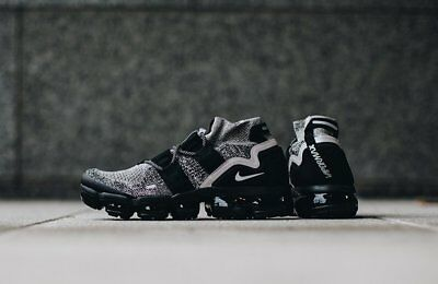 NEW Men's Nike Air Vapormax Flyknit Utility Moon Particle Black OREO AH6834-201