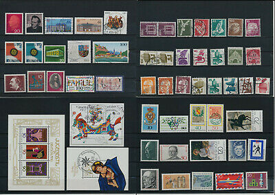 Stamps of Germany-West, BRD, used/mint, great lot  (OA 17)