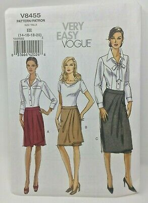 NEW Very Easy Vogue VP943 Sewing Pattern Misses Vest Plus Size 14-16-18-20-22