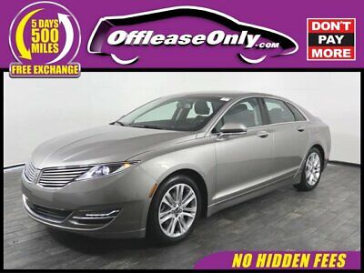 2016 MKZ/Zephyr EcoBoost AWD Off Lease Only 2016 Lincoln MKZ EcoBoost AWD Intercooled Turbo Premium Unleaded