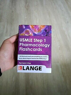 USMLE Pharmacology Review Flash Cards by Terriann Crisp (2014, Book, Other)