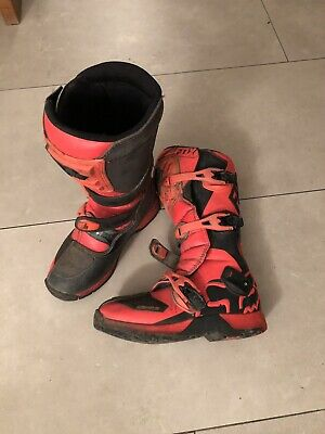 FOX Motocross Stiefel Gr. 40 - Ideal für Kids