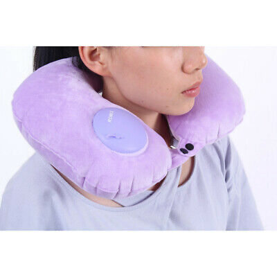 Portable Premium Luxurious Soft Neck Support Pillow for Train Office Camping Car