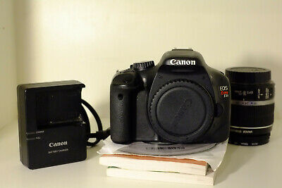 Canon EOS rebel 550D (T2i) Camera with 18-55mm lens