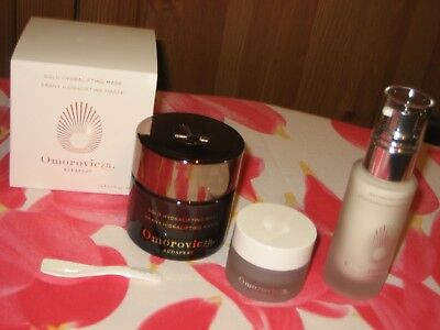 OMOROVICZA GOLD HYDRALIFTING MASQUE + MASQUE  + SOIN JOUR Valeur  245,00 Euros