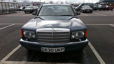 1990 Mercedes-Benz W126 300SE Brand new MOT (no advisories)