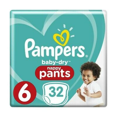 Pampers Baby-Dry Pants Taille 6 15+ kg - 32 Couches-culottes