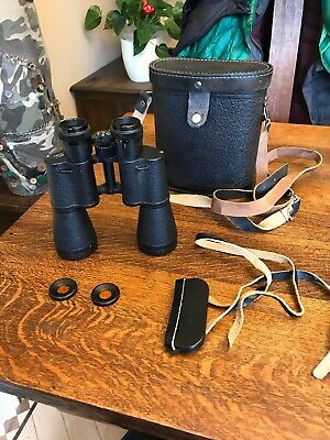 Russian BNU2, 12x45M powerful binoculars + Filters +leather case Made in USSR