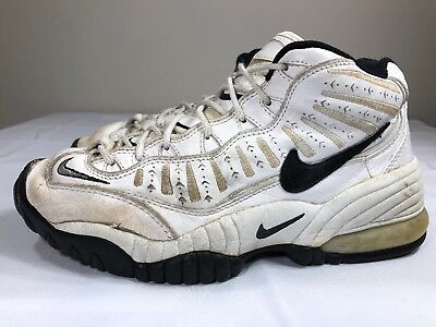 9b532b2e2662b VTG 1996 Nike Air Adjust Force OG Basketball Shoes Men s 11.5 White 90s Max