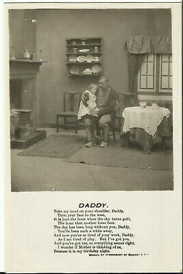 "Greeting Postcard - Parenting, ""Daddy"" - Bamforth"