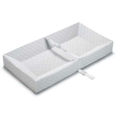 Infant Changing Table Pad Cover in 100% Cotton Knit - White