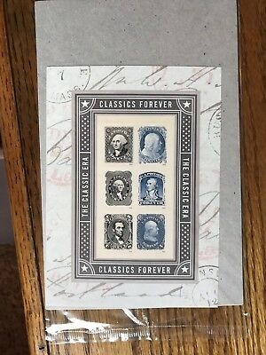Scott #5079 a-f US Classics Forever - Souvenir Sheet of 6 - 2016 MNH Sealed