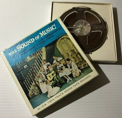 Reel To Reel - The Sound Of Music -His Masters Voice EMI -TWIN TRACK TAPE RECORD