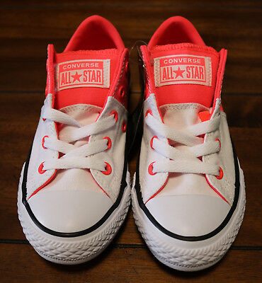 bf6ee348a898 Kids Converse CTAS Madison Oxford Sneaker Size 13 White Hot Punch Youth  Children